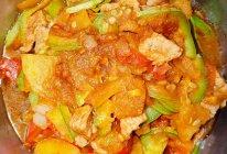 西葫芦土豆肉片的做法