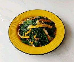 辣蛋豆腐蒜菠菜