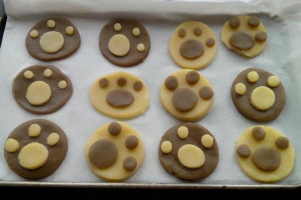 猫爪饼干的做法_【图解】猫爪饼干怎么做如何做好吃