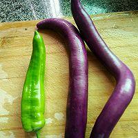 青椒茄子的做法图解1
