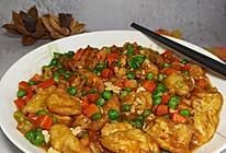 #换着花样吃早餐#酱汁日本豆腐(附日本豆腐做法)的做法