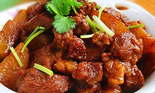 红烧羊肉萝卜 的做法