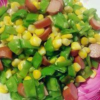 玉米荷兰豆肠仔肉----小丽家常菜