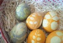印花鸡蛋的做法