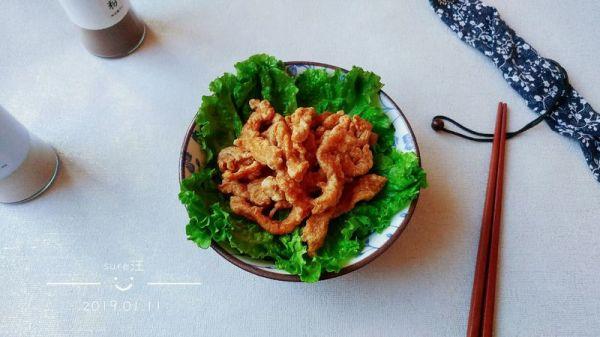 酒酱酥胡椒盐肉的做法