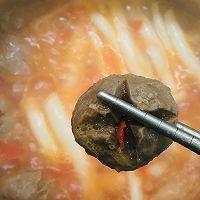牛肉丸番茄小火锅的做法图解7