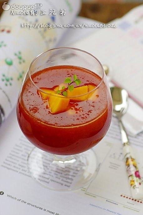 红酒木瓜饮的做法