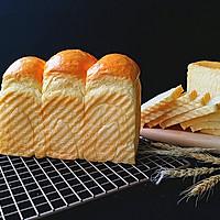 日式甜面包(中种法) #有颜值的实力派#