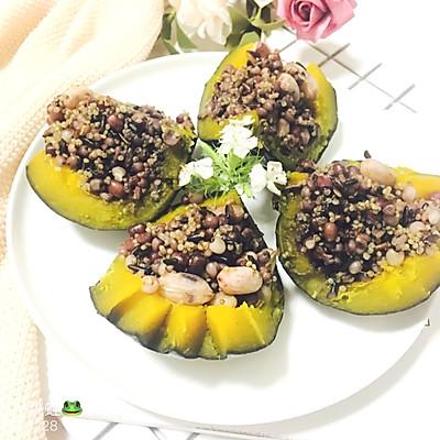 藜麦薏米南瓜盅