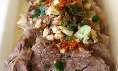 香辣凉拌牛肉的做法