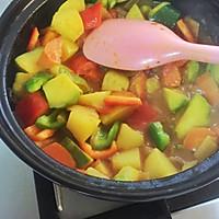 蔬菜蒸粗麦粉--塔吉锅菜谱的做法图解9
