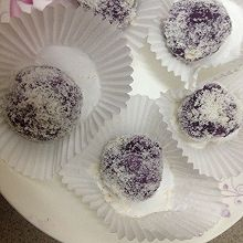 奶香紫薯糯米糍
