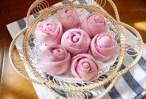 #餐桌上的春日限定#紫薯玫瑰花的做法
