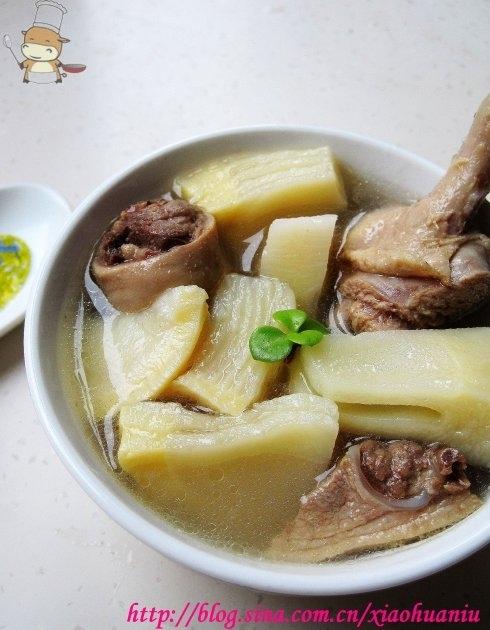 夏季喝什么汤?——冬笋老鸭汤的做法