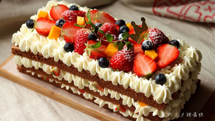 ~巧克力裸蛋糕~