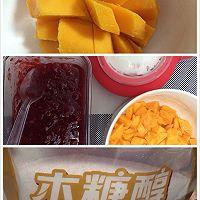 可可芒果盒子蛋糕(木糖醇)的做法图解11