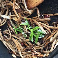 超级无敌好吃-干煸茶树菇的做法图解6