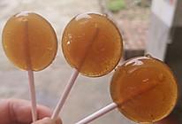 雪梨棒棒糖的做法