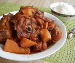 红烧竹笋鸡的做法