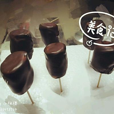 棉花糖巧克力棒棒糖