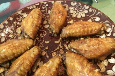 蒜香烤翅(微波)