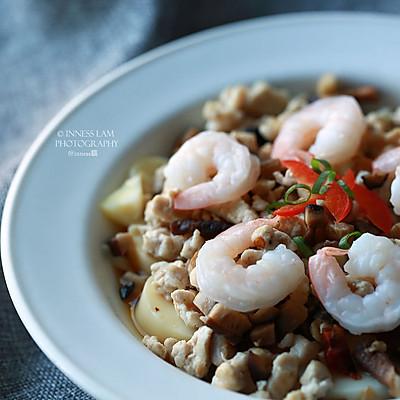 【香菇肉末蒸玉子豆腐】低脂低卡安慰你的中式胃