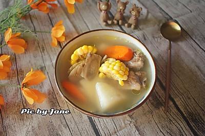 玉米胡萝卜牛蒡汤