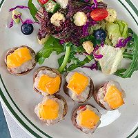 芝士培根芋泥烤口蘑—快手小食系列的做法图解25