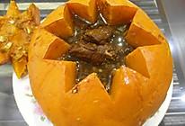 豉香排骨南瓜盅#寻找最聪明的蒸菜达人#的做法
