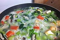 冬日暖胃菜泡饭的做法