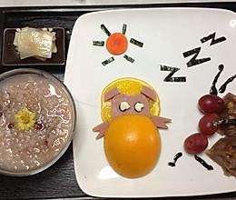 大叔的早餐/小猪睡觉蚂蚁偷糕的做法