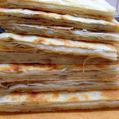花椒盐烙饼