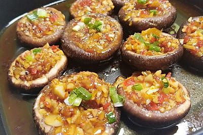 蒜蓉烤香菇