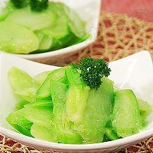 瘦身健美爽口菜:姜汁芥蓝片