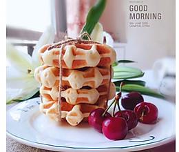 早餐吃什么~华夫饼的做法
