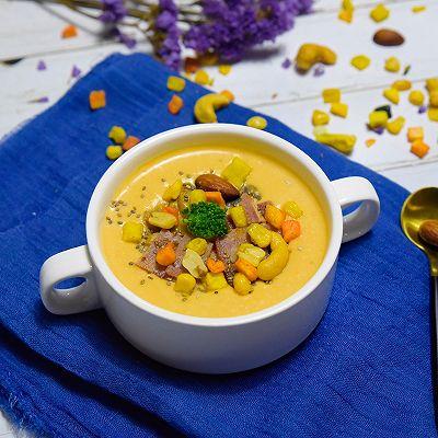 Sweet Potato Soup‖牛奶薯香蘑菇汤
