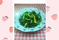 韭菜炒蛋皮的做法