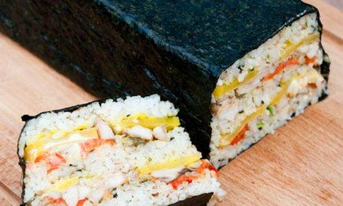 Teriyaki chicken sushi的做法
