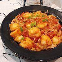 #餐桌上的春日限定# 番茄金针菇烧日本豆腐!超下饭!的做法图解12
