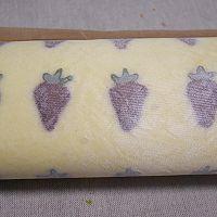 史上最详细彩绘毛巾卷-蔓越莓奶油彩绘毛巾卷#最萌缤纷儿童节#的做法图解33