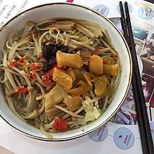 金针菇粉条(减肥晚餐)