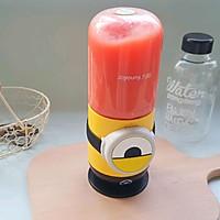 西瓜薄荷气泡冰饮#夏日冰品不能少#的做法图解3