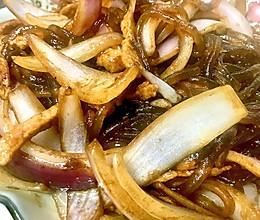 地道美味:洋葱炒粉条的做法