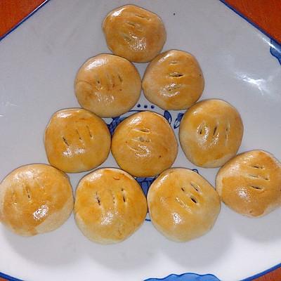 蜜豆老婆饼