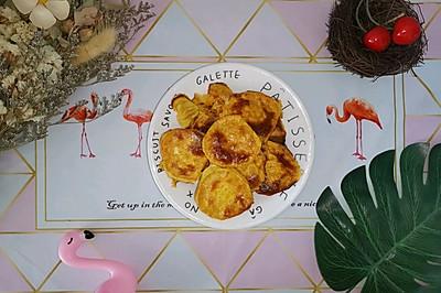 黄金烤薯片(减脂菜单)