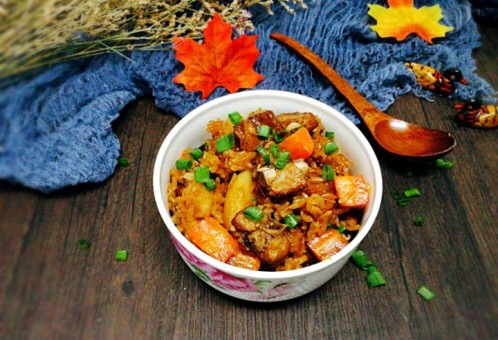 #土豆排骨挑战赛#青瓜海带凉拌莲藕精品菜谱焖饭怎么做图片
