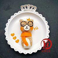 创意美食-小熊饭团