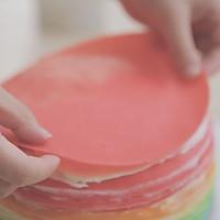 爱的彩虹蛋糕「厨娘物语」的做法图解23