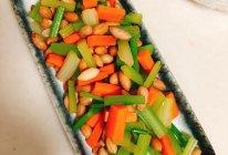下酒菜之芹菜拌花生米的做法