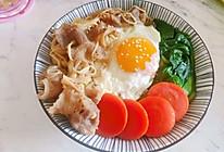 日式金针肥牛饭的做法
